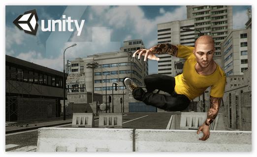 3-Д игра на платформе Unity