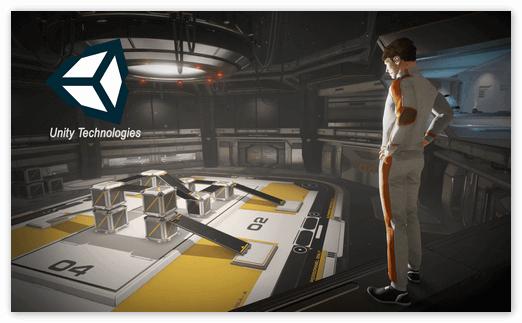 3D игра от Unity Technologies