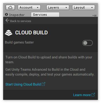 Дополнительный сервис Cloud Build