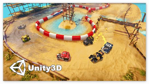 Гоночный платформер от Unity