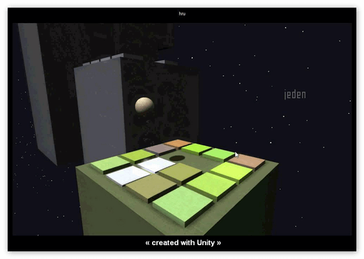 Игра на Unity Web Player