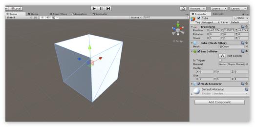 Построение модели «Куб»