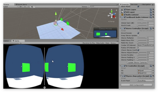 Разработка 3D игры для VR