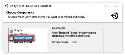Standart Assets для Unity3D