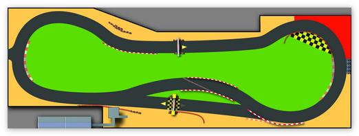 Трасса для платформера 2D